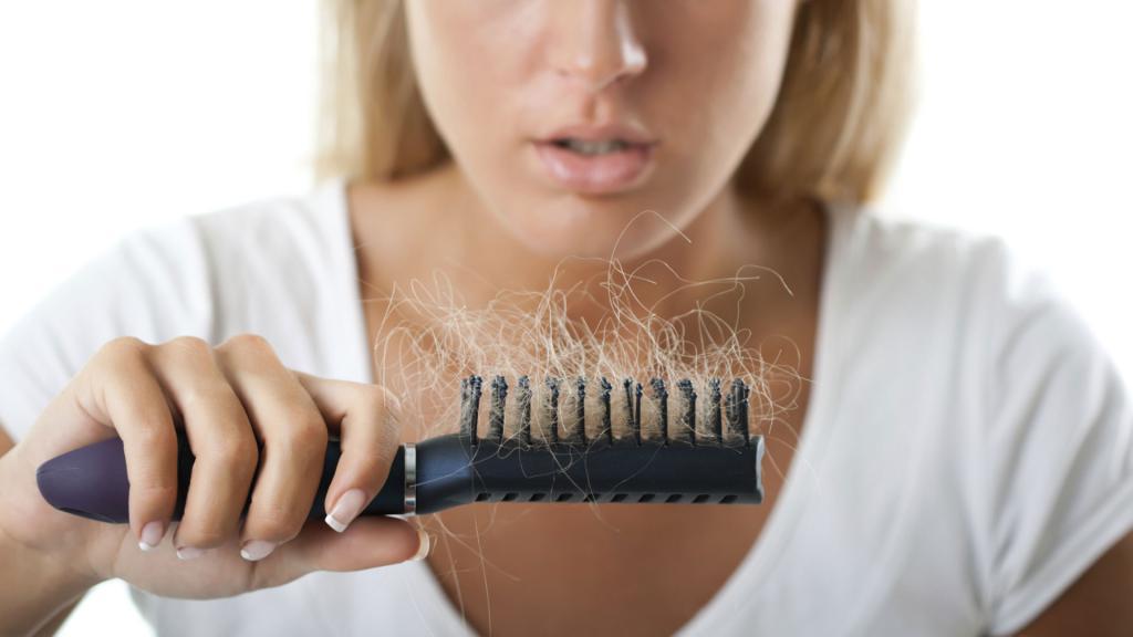 проблема выпадение волос