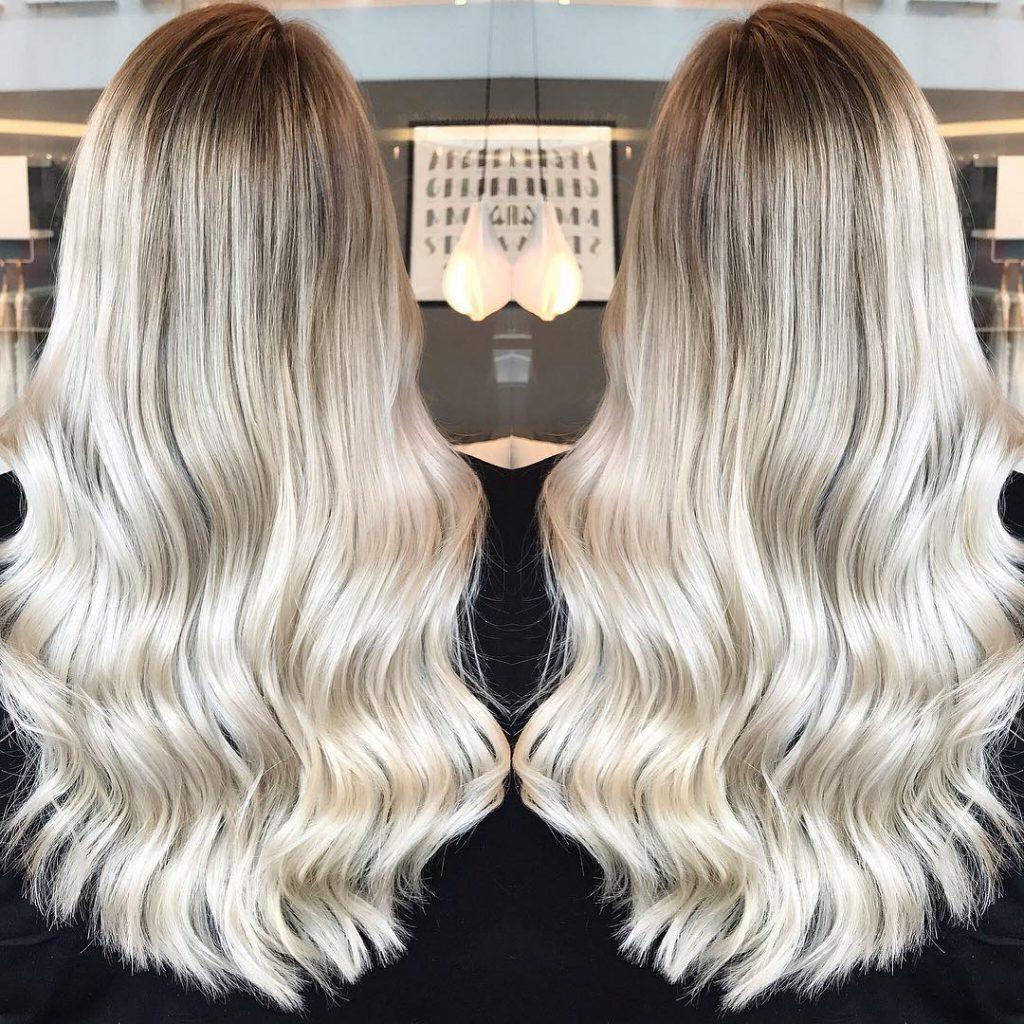 технология блондирования волос