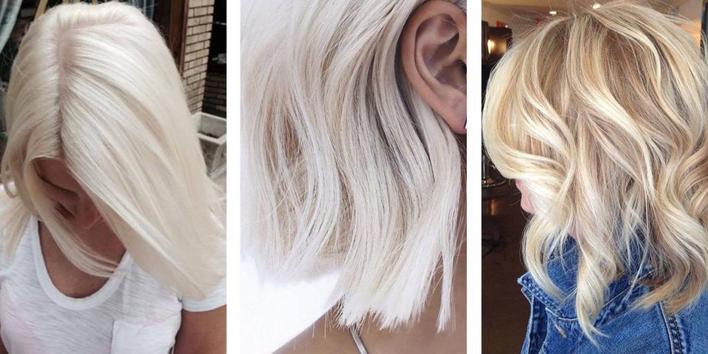 как добиться идеального белого цвета волос