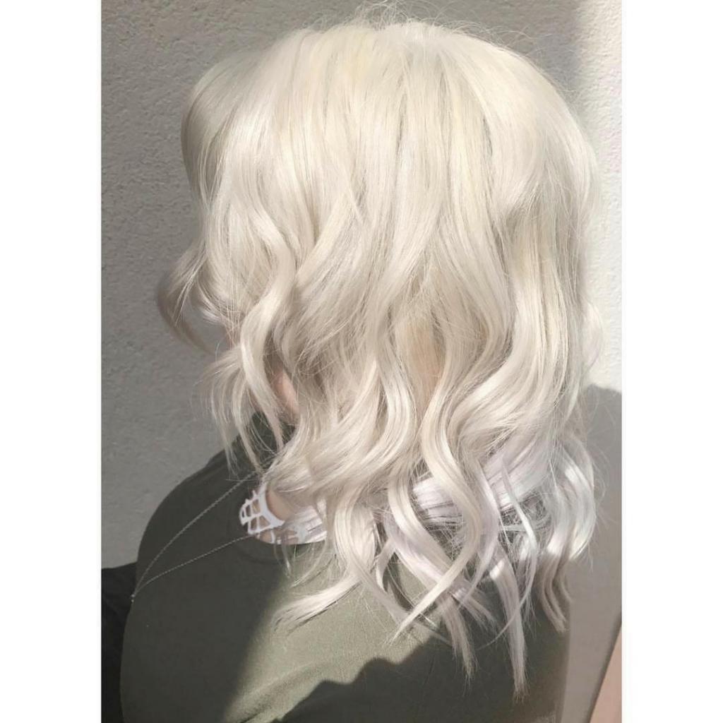 красивый оттенок блонда в домашних условиях