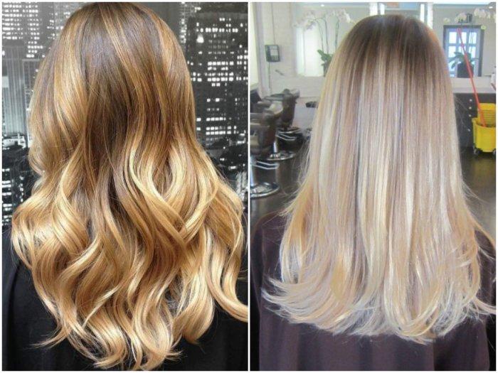 техники окрашивания в блонд