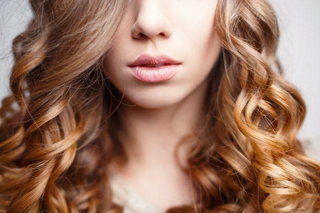 Волосы с биозавивкой