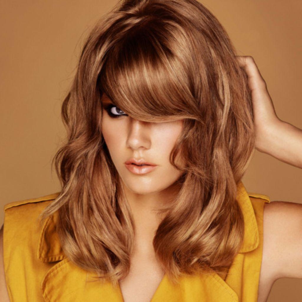 Медовые оттенки волос фото
