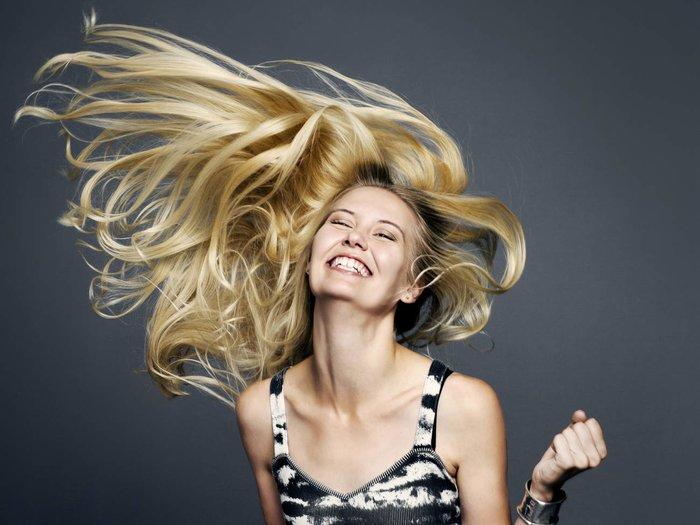 Палитра красок блонд для волос