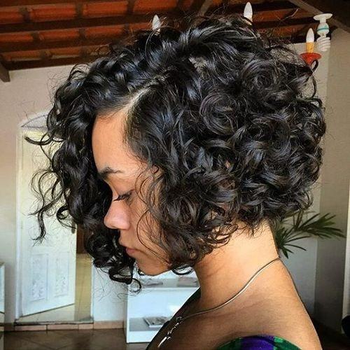 карвинг на коротких волосах
