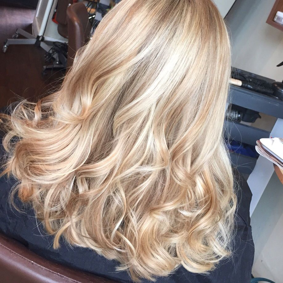 Как добиться бежевого цвета волос