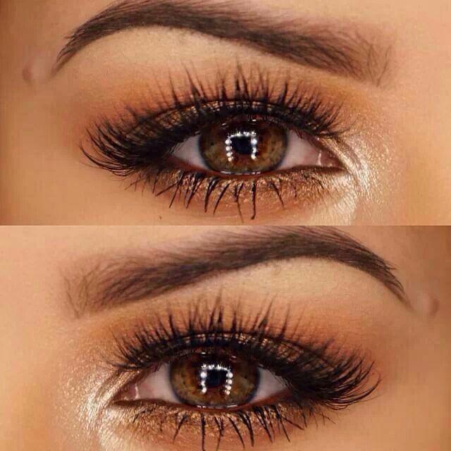 глаза ореховые