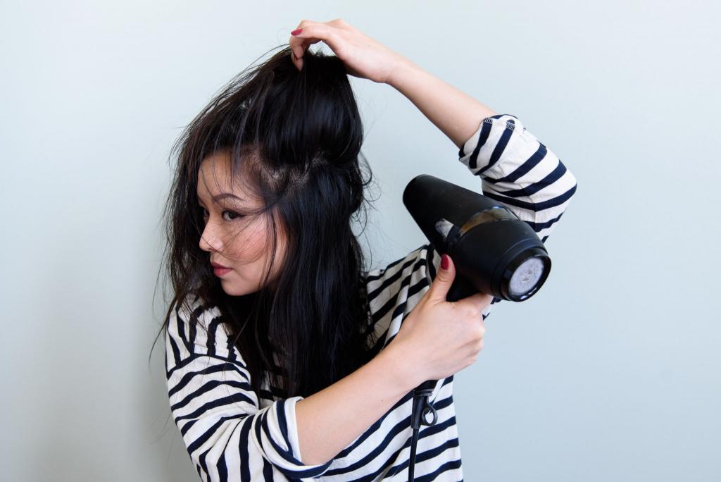 как сделать начес на волосах