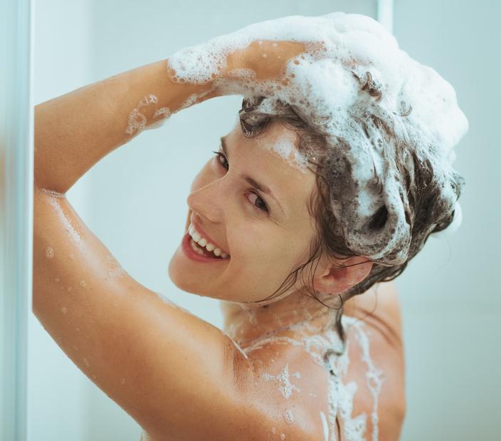 Мытье волос после кератина