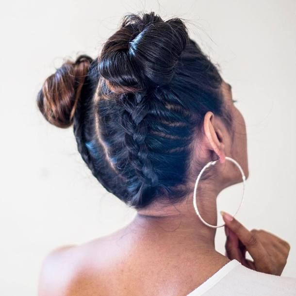 Пучки с косами