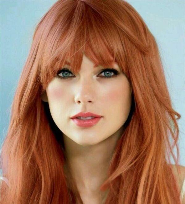 рыжий цвет волос кому