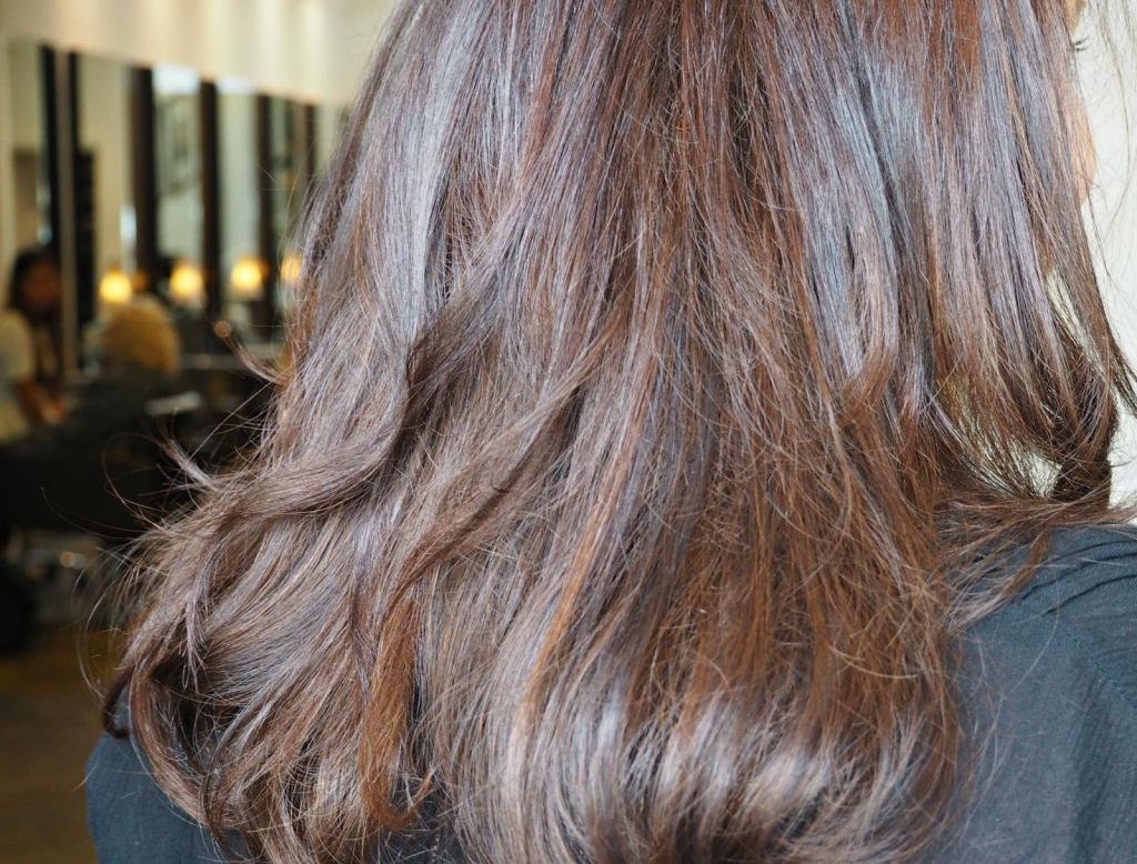 окрашивание 3d на темные волосы фото