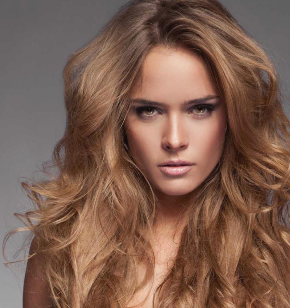 Миндальный цвет волос фото