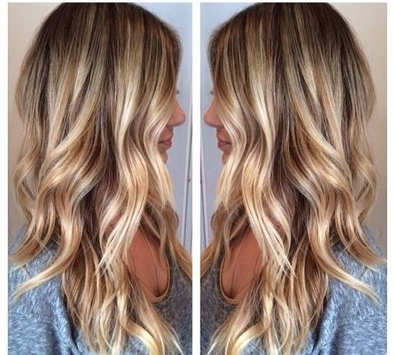 Теплый оттенок блонда