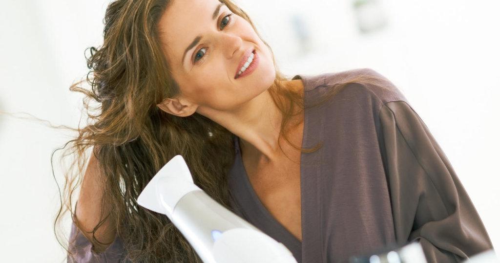 как быстро высушить волосы феном