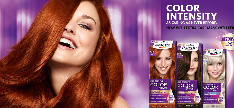 """Краска для волос """"Палет"""" для темных волос"""