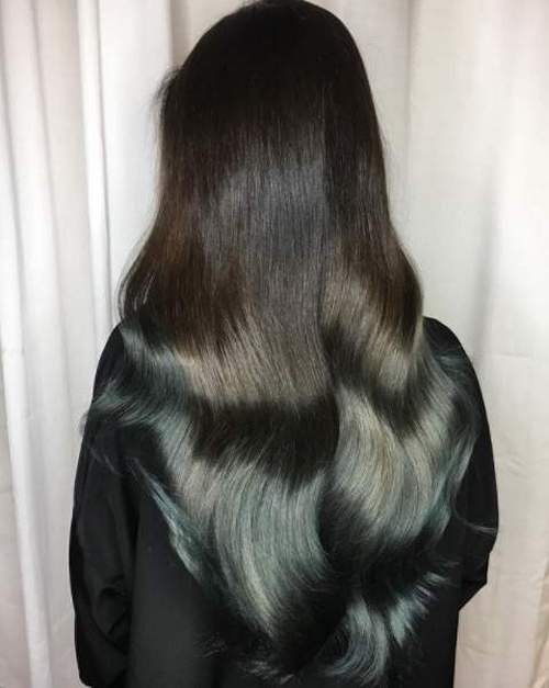 краска волос холодный шатен
