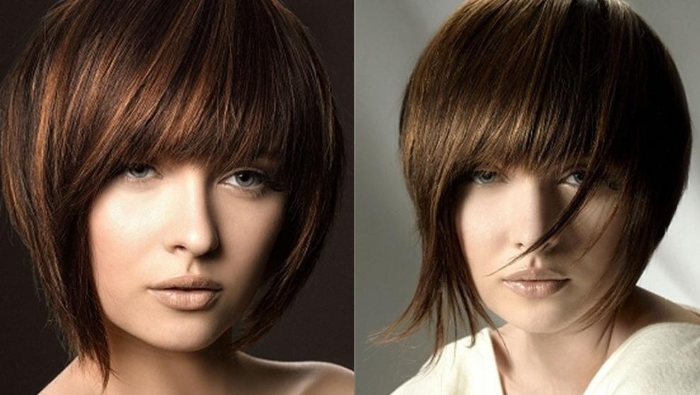 """Стрижка """"Каскад"""" на короткие волосы варианты"""