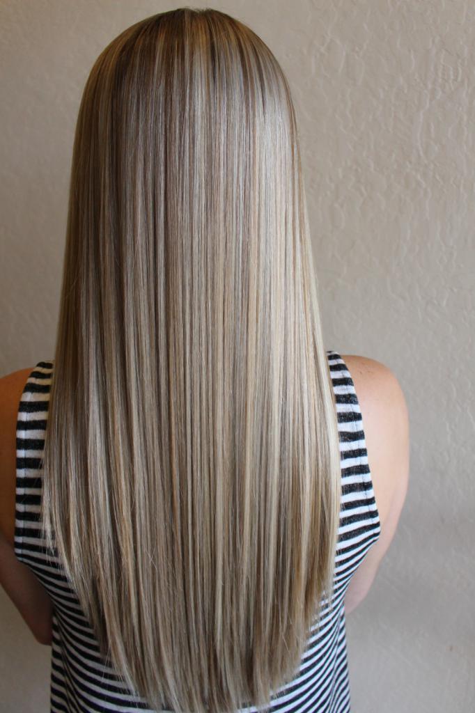 Мелирование короткие волосы фото до и после сколько