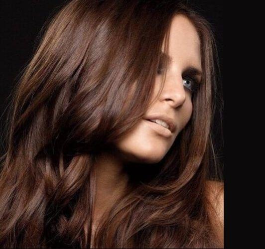 орехово каштановый цвет волос