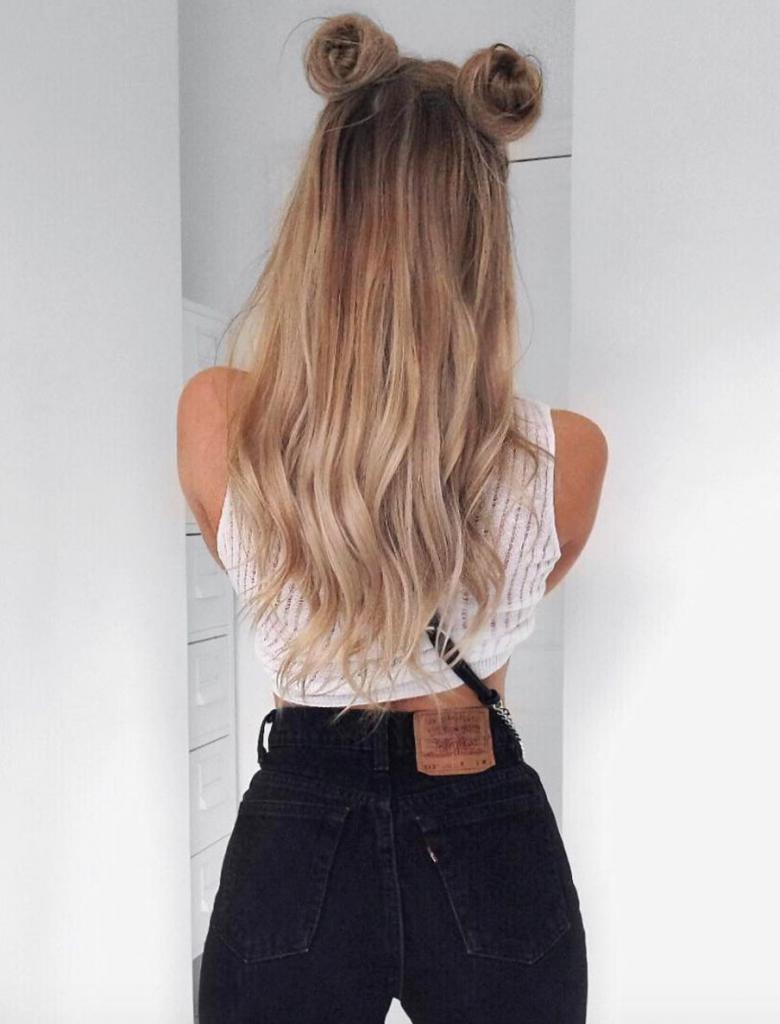 hair inspo tumblr - 736×965
