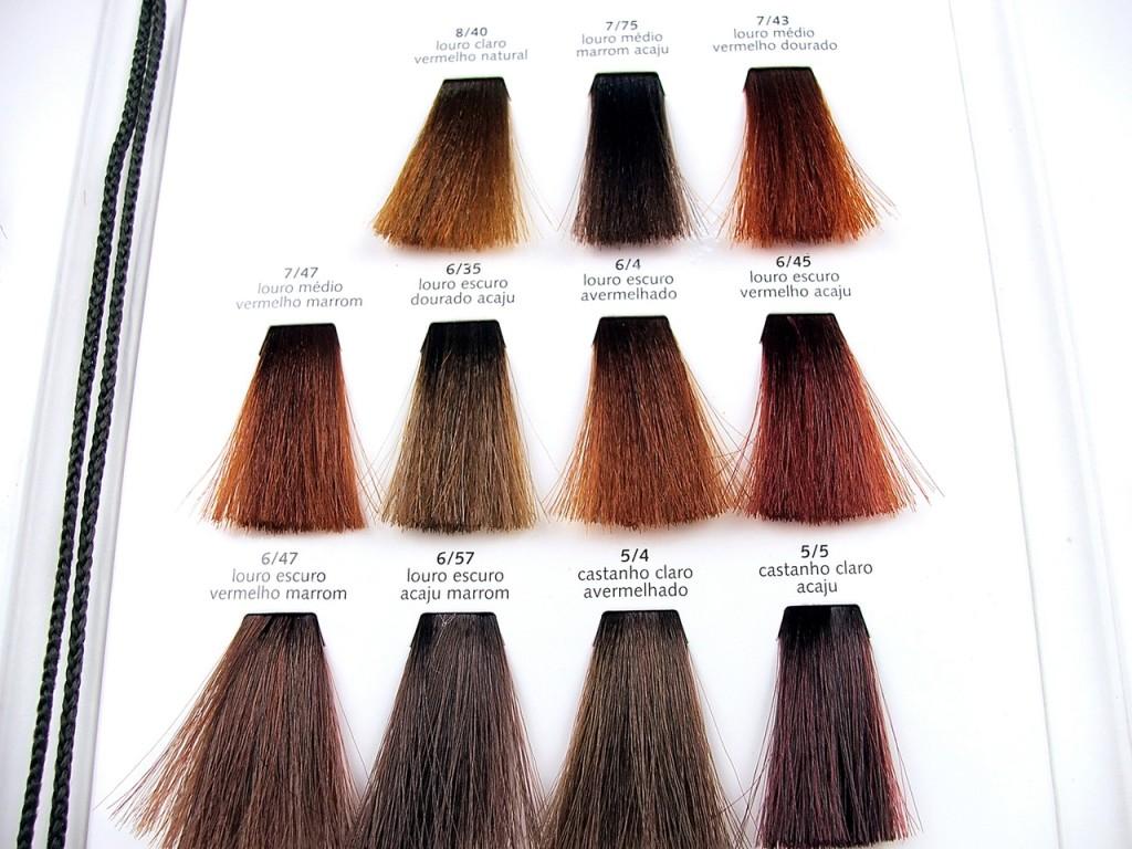 Краска для волос Палет - палитра оттенков