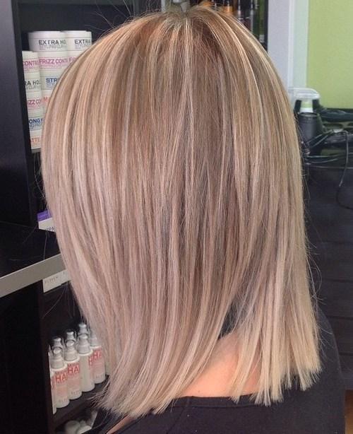 пепельно-жемчужный цвет на коротких волосах