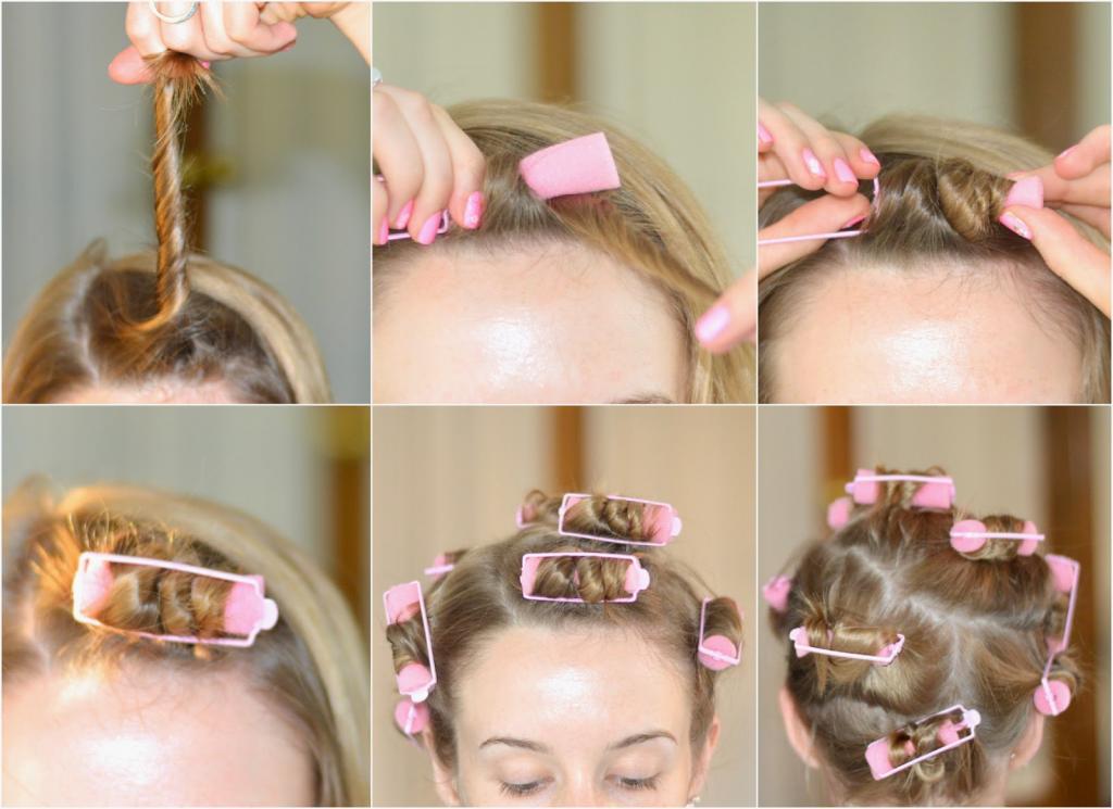как правильно завивать короткие волосы