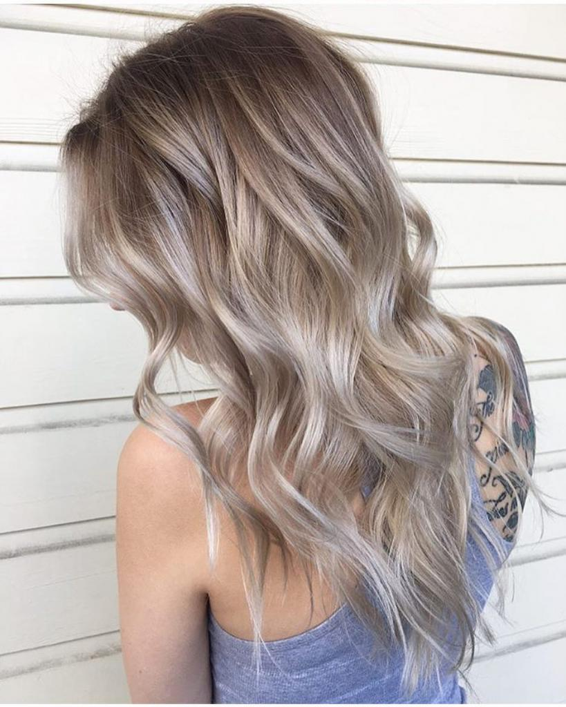 разговор картинки покраска волос пепельный цвет этой