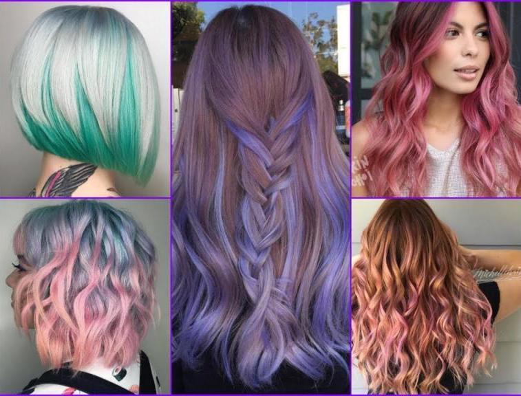 Покраска коротких волос в два цвета (56 фото): как сделать двойное черно-белое окрашивание брюнетке? Как покрасить разные стрижки?