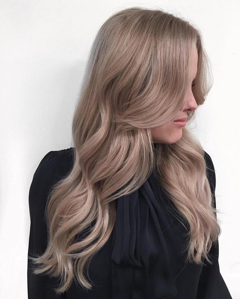 Натуральный холодный русый цвет волос