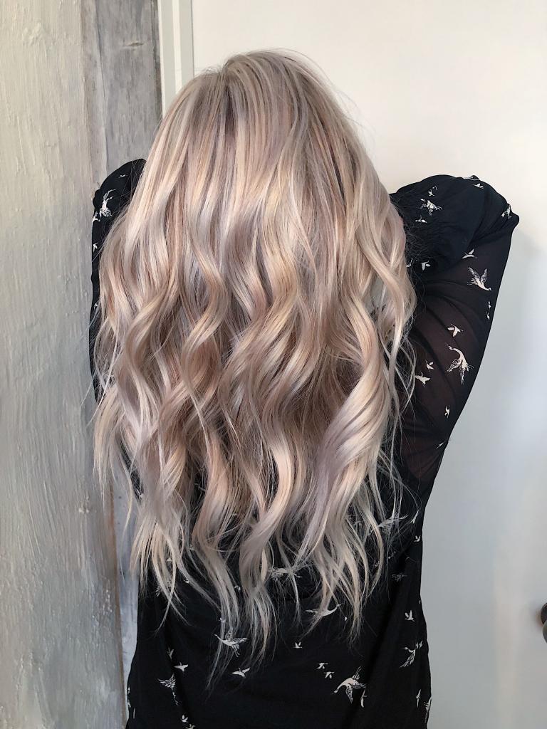 Светлый перламутр цвет волос