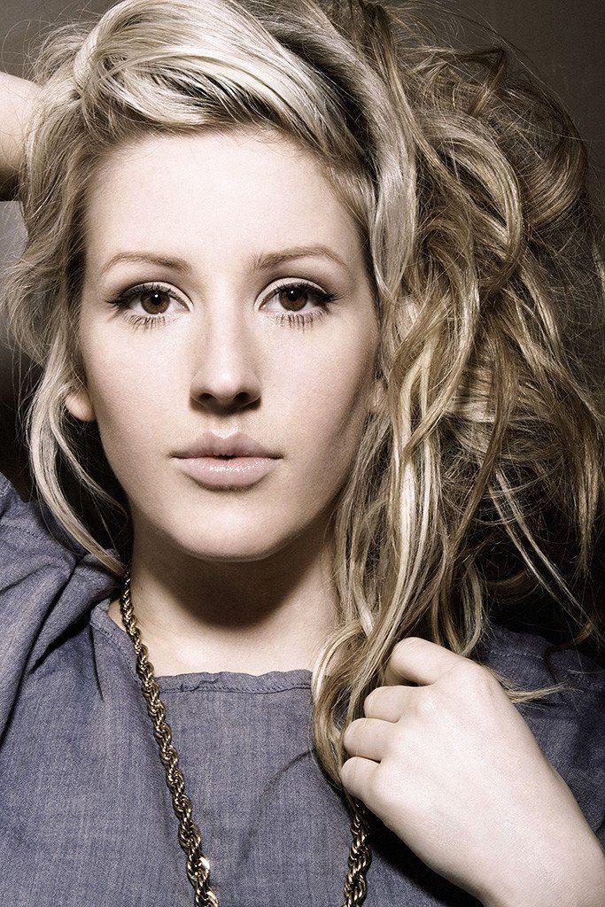 Блонд для карих глаз