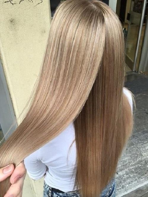 виды окраски волос фото
