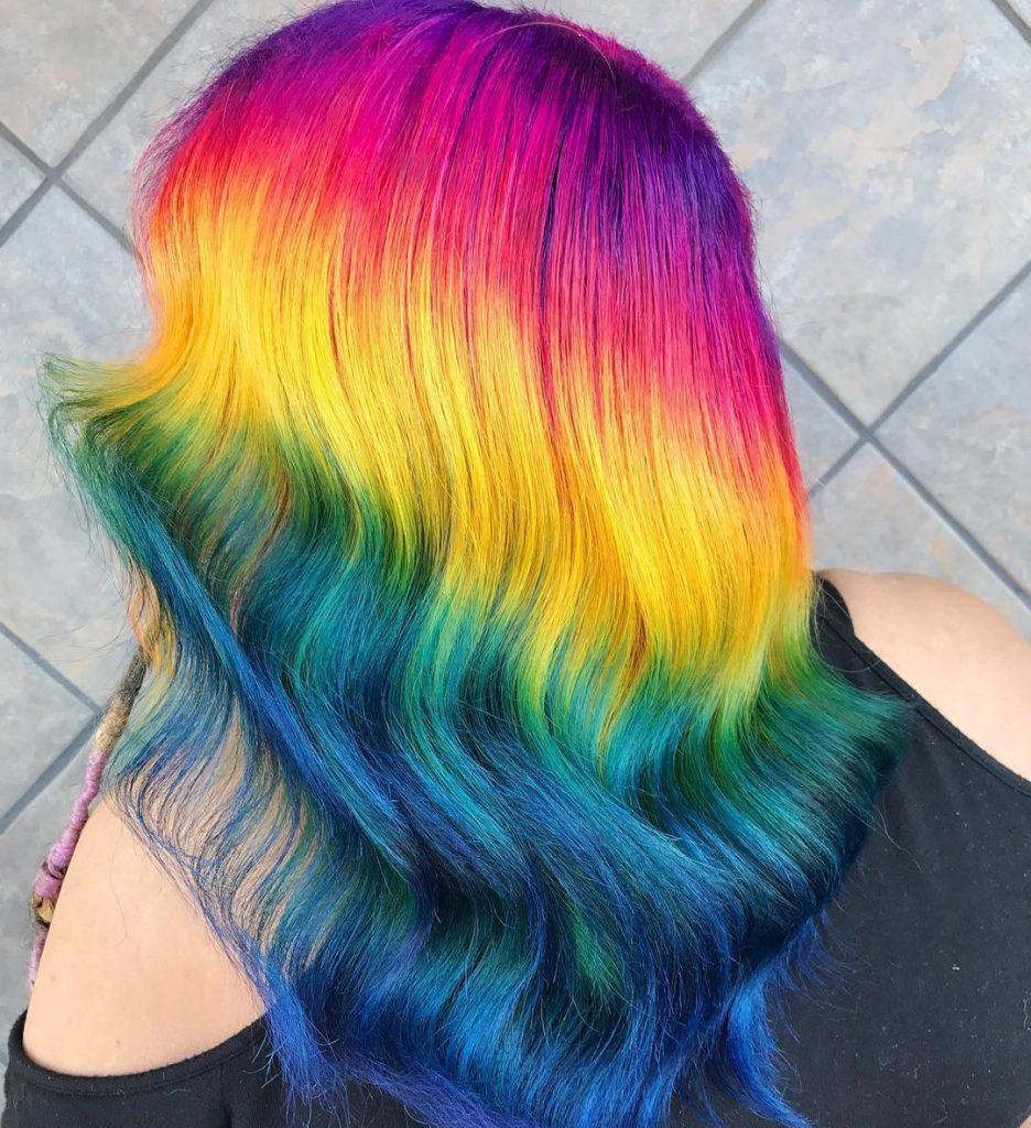 окраска волос виды окраски