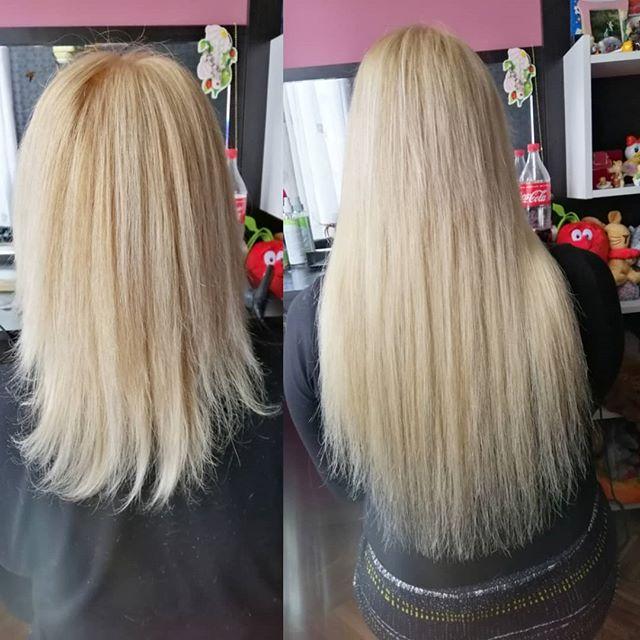 стоило мне нарощенные волосы до и после фото отзывы нее юности