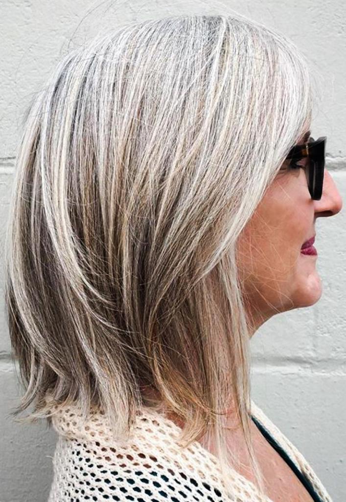как покрасить волосы чтобы скрыть седину