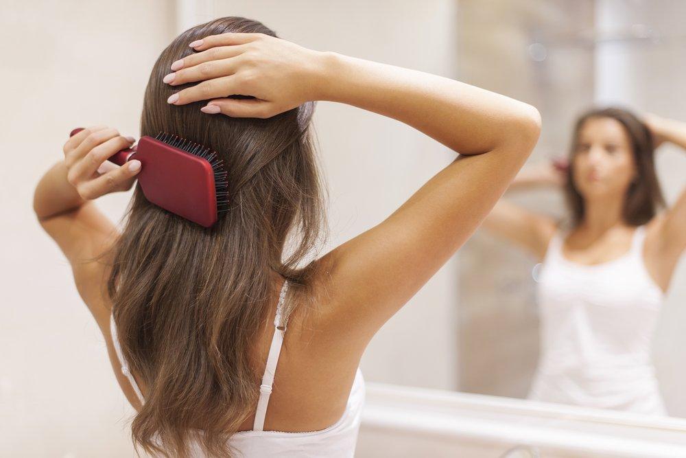 пыльным московским картинка уход для волос четыре