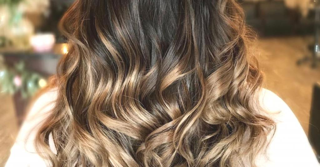 Мелирование кончиков волос