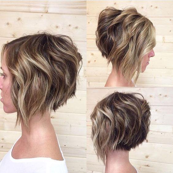 окрашивание волос балаяж фото на короткие волосы