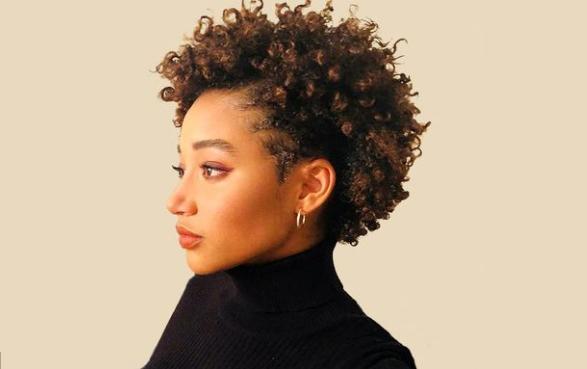 Афро на короткие волосы