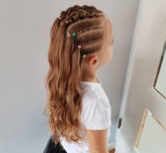 косы детские