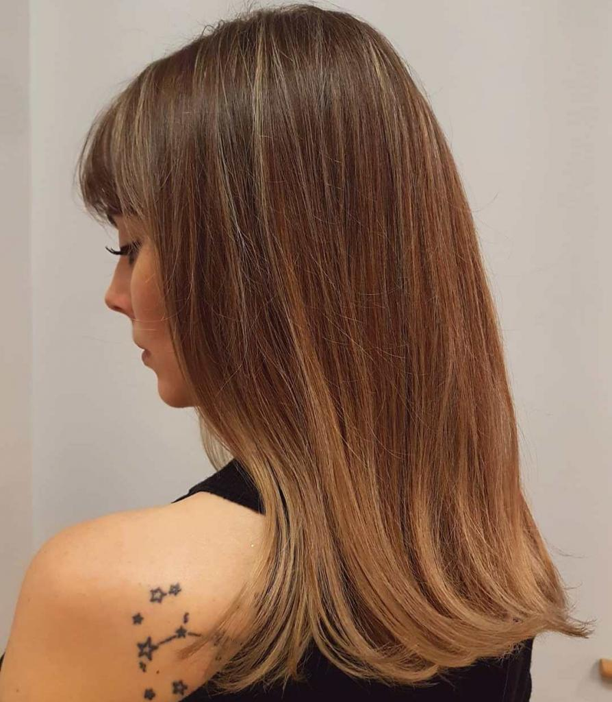 Фото золотистых оттенков волос