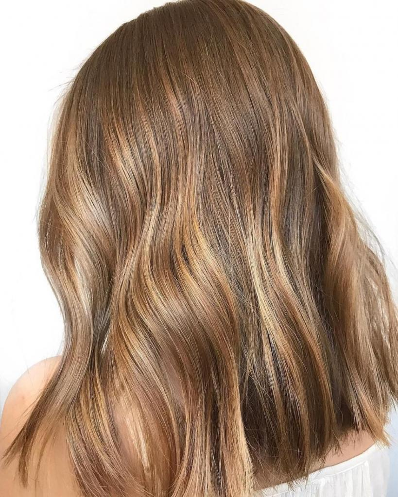 Золотистый цвет волос после окрашивания