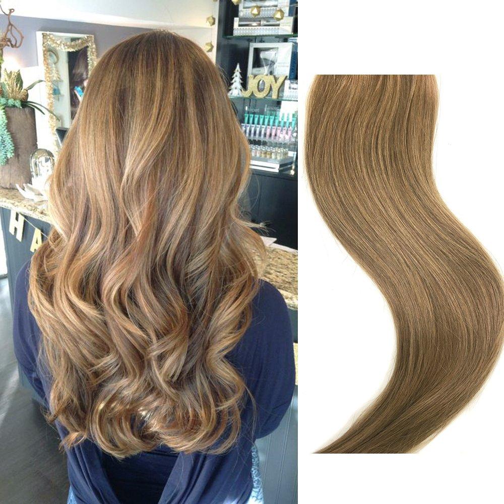 Светло-русый золотисто-коричневый цвет волос - фото